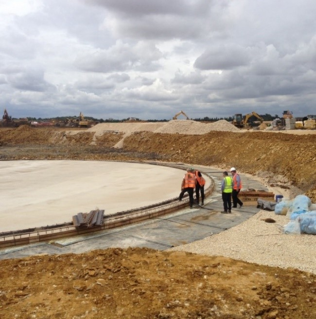 Anaerobic Tank Construction, Lincolnshire